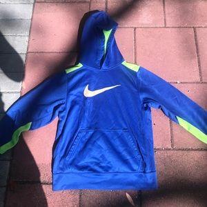 Nike hoodie (kids LARGE)